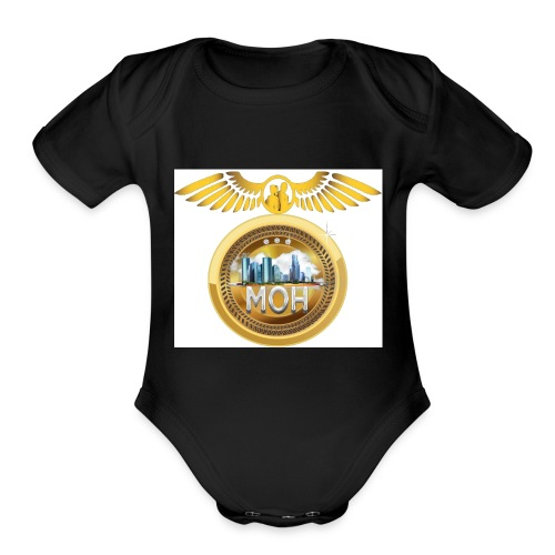 Mannunaki Order of Heavan - Organic Short Sleeve Baby Bodysuit