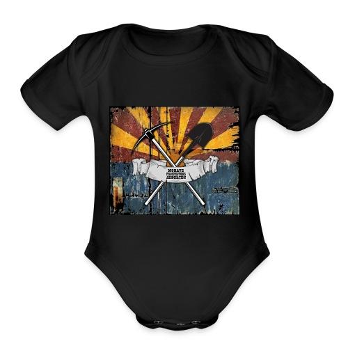 MPA new - Organic Short Sleeve Baby Bodysuit