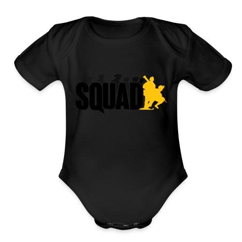 Squad - Organic Short Sleeve Baby Bodysuit
