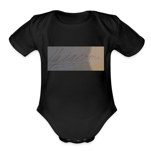 signature - Organic Short Sleeve Baby Bodysuit