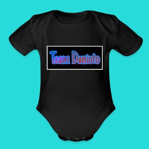 Team Danioto Classic Long Sleeve Shirt! - Organic Short Sleeve Baby Bodysuit