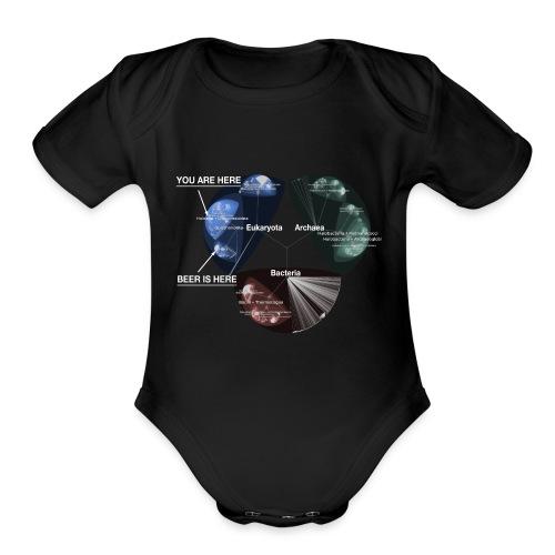Beer is here: Tree of Life - Organic Short Sleeve Baby Bodysuit