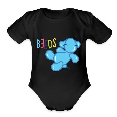 beeds - Organic Short Sleeve Baby Bodysuit
