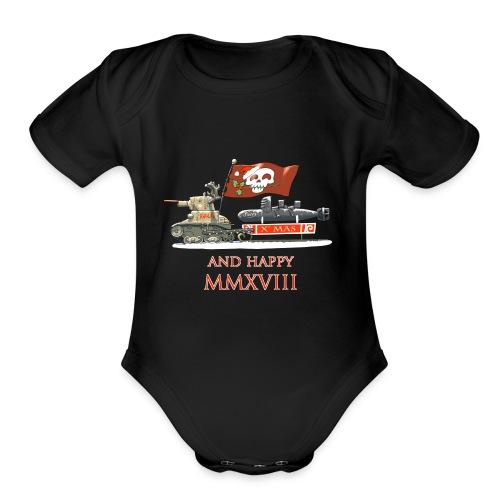 AVGVRI - Organic Short Sleeve Baby Bodysuit