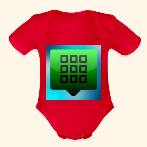 photo 1 - Organic Short Sleeve Baby Bodysuit