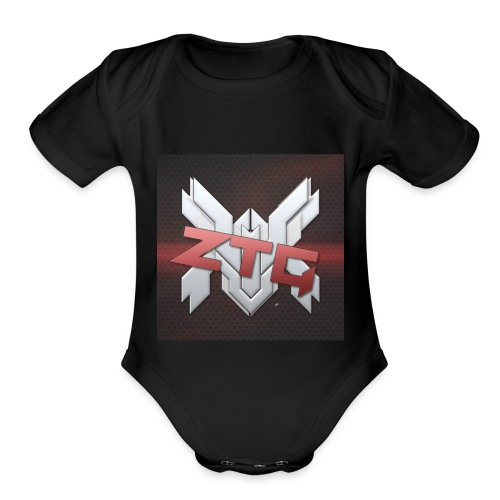 ZTG GAMING MERCH - Organic Short Sleeve Baby Bodysuit