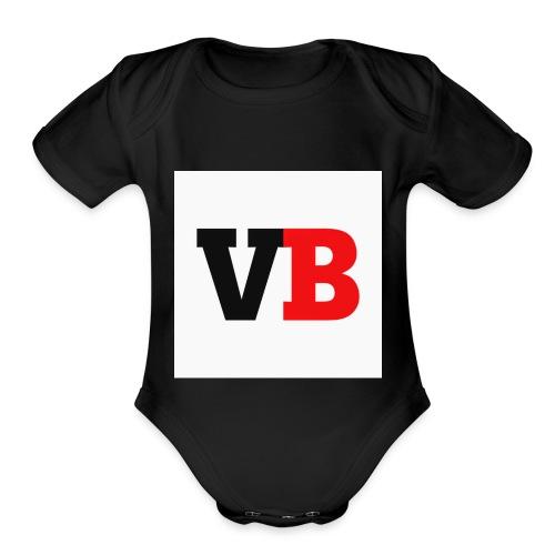 Vanzy boy - Organic Short Sleeve Baby Bodysuit