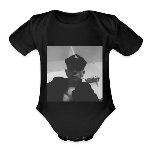 EadrictA - Organic Short Sleeve Baby Bodysuit