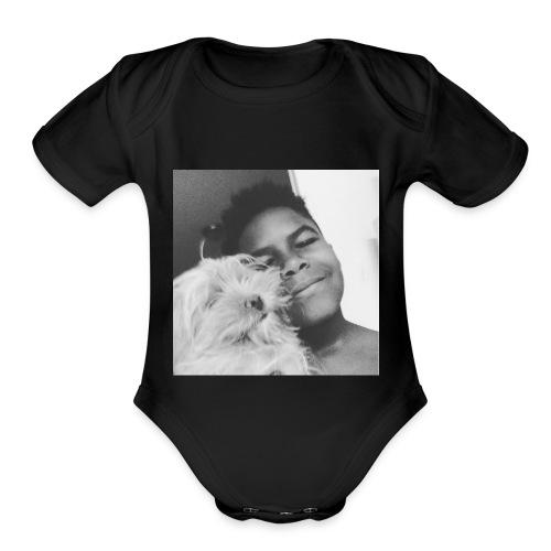 rip bella - Organic Short Sleeve Baby Bodysuit