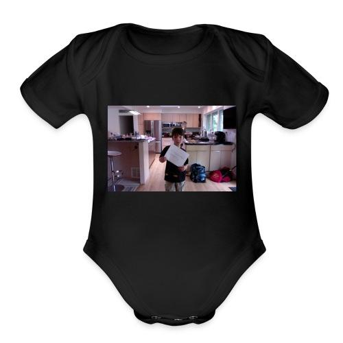 team qcevwwaer gaming t shirt - Organic Short Sleeve Baby Bodysuit