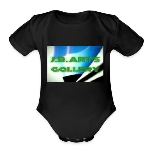 J.B ART'S gallery - Organic Short Sleeve Baby Bodysuit