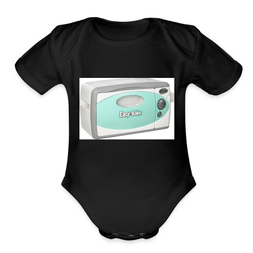 easy bake - Organic Short Sleeve Baby Bodysuit