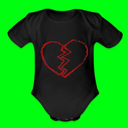 152959168399814627 - Organic Short Sleeve Baby Bodysuit
