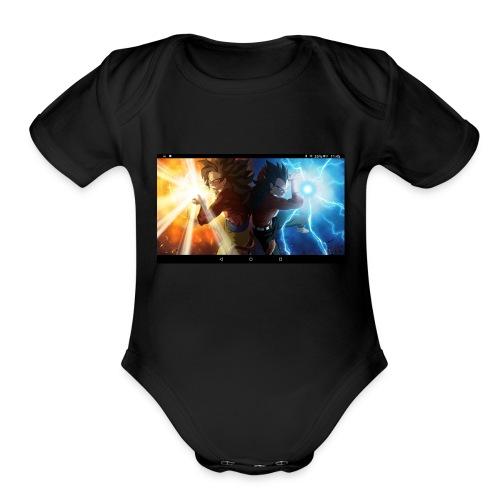 Dragon ball - Organic Short Sleeve Baby Bodysuit