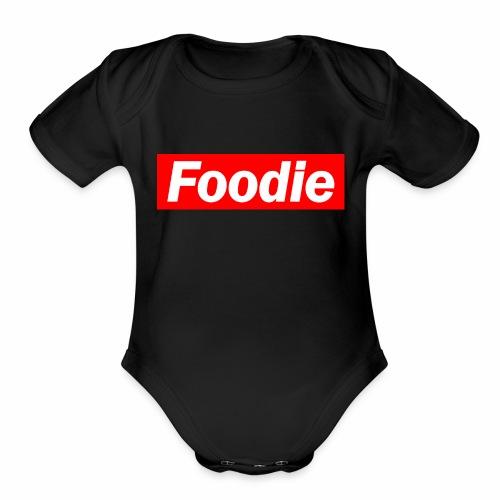 Foodie - Organic Short Sleeve Baby Bodysuit
