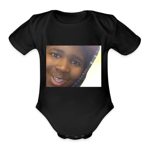 That One Kid - Organic Short Sleeve Baby Bodysuit