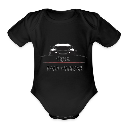 True Road Warrior - Organic Short Sleeve Baby Bodysuit
