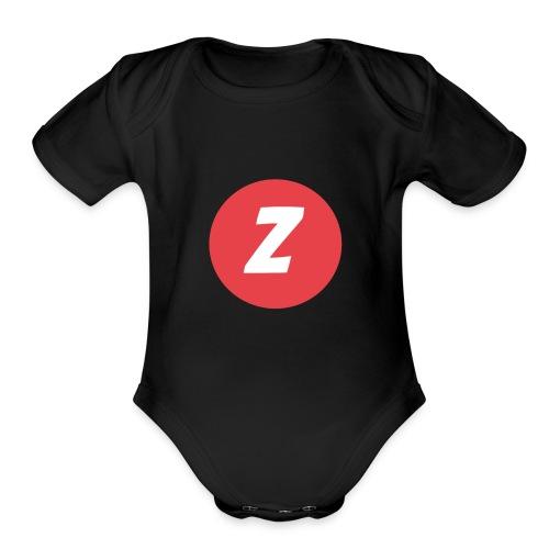 Zreddx's clothing - Organic Short Sleeve Baby Bodysuit
