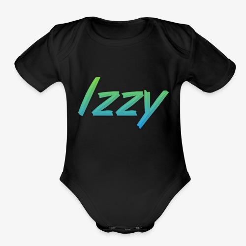 Izzy - Organic Short Sleeve Baby Bodysuit