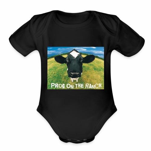 Prog On The Ranch - Organic Short Sleeve Baby Bodysuit