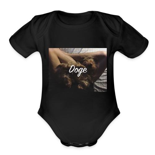 Doge - Organic Short Sleeve Baby Bodysuit