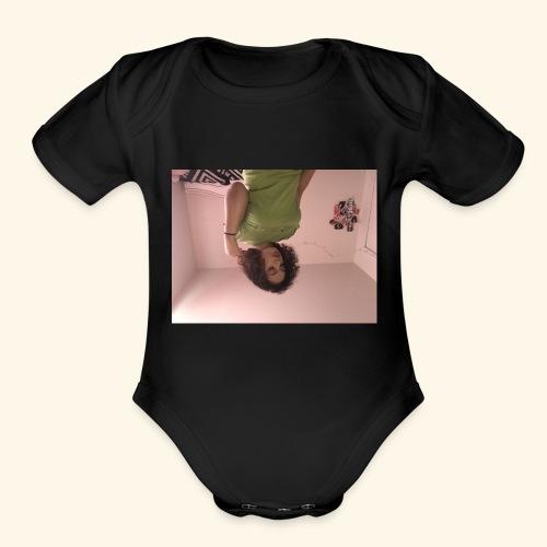 IMG 0683 - Organic Short Sleeve Baby Bodysuit