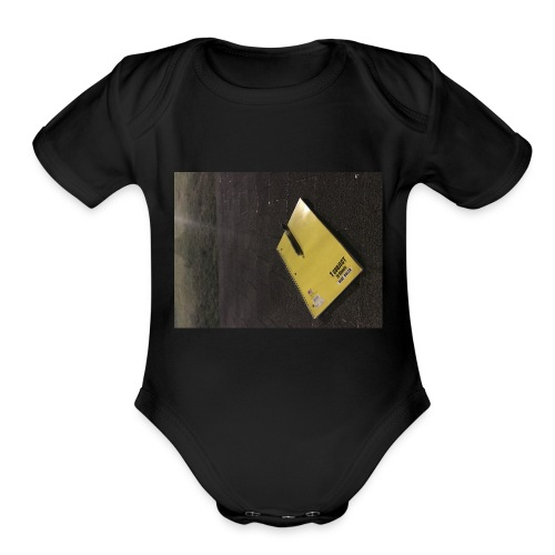 The Beginning is Never the End - Organic Short Sleeve Baby Bodysuit