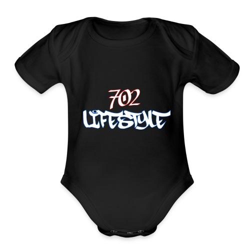 702 Lifestyle - Organic Short Sleeve Baby Bodysuit