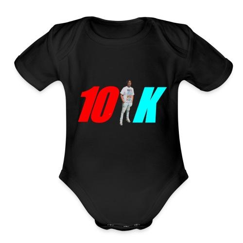 Retro10k's Brand named clothing - Organic Short Sleeve Baby Bodysuit