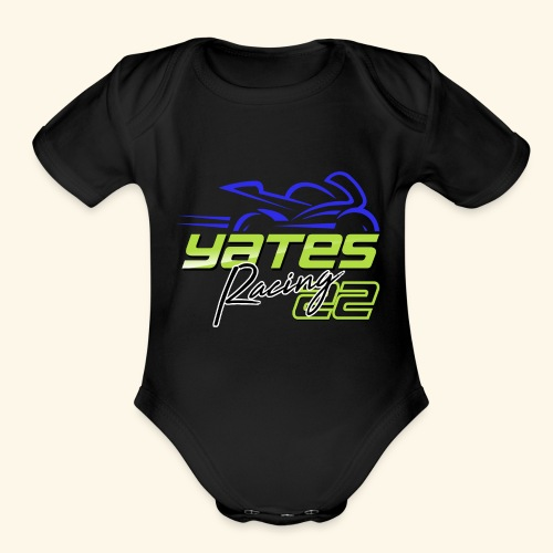 Yates Racing - Organic Short Sleeve Baby Bodysuit