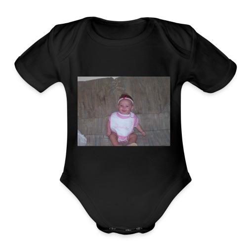 dream labbe - Organic Short Sleeve Baby Bodysuit