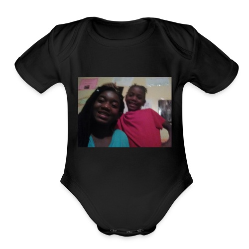 MariWatts Street K - Organic Short Sleeve Baby Bodysuit