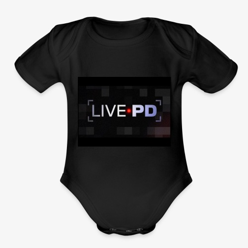 LivePD - Organic Short Sleeve Baby Bodysuit