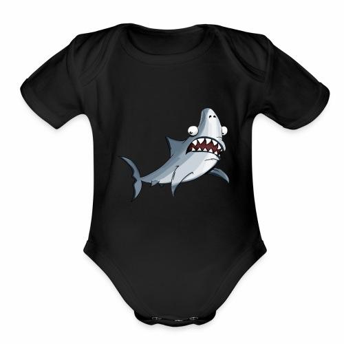 Shark - Organic Short Sleeve Baby Bodysuit