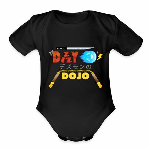 Dezzy D's Dojo - Organic Short Sleeve Baby Bodysuit