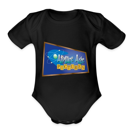 AtomicAgeLogo - Organic Short Sleeve Baby Bodysuit