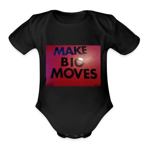 1530847215322693924567 - Organic Short Sleeve Baby Bodysuit