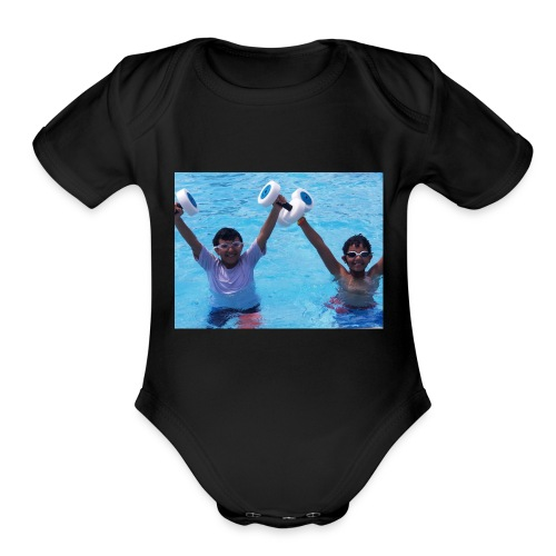 The first ttdat merch - Organic Short Sleeve Baby Bodysuit
