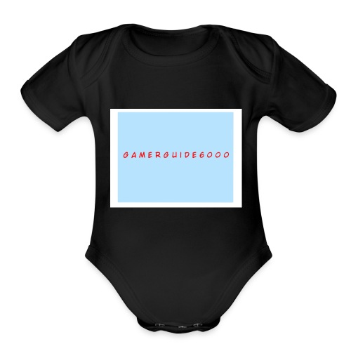 GamerGuide6000 - Organic Short Sleeve Baby Bodysuit