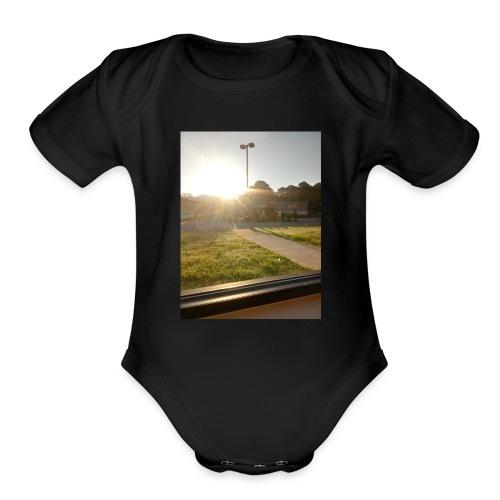 Brightly Sized - Organic Short Sleeve Baby Bodysuit