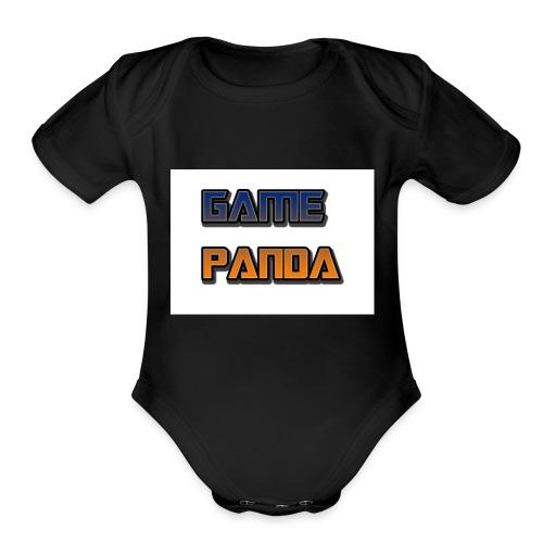 Game Panda Casuals New design at cheap Price - Organic Short Sleeve Baby Bodysuit