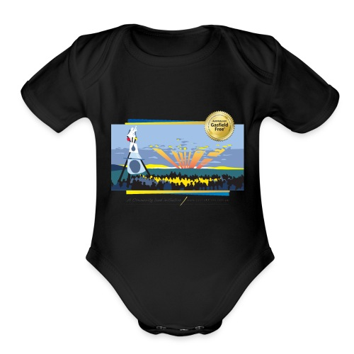 Bentley Blockade - Organic Short Sleeve Baby Bodysuit