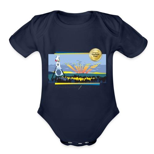 Bentley Blockade - Organic Short Sleeve Baby Bodysuit