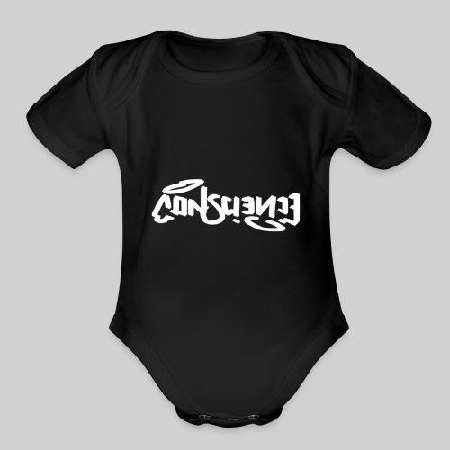 conscience Logo Design! - Organic Short Sleeve Baby Bodysuit