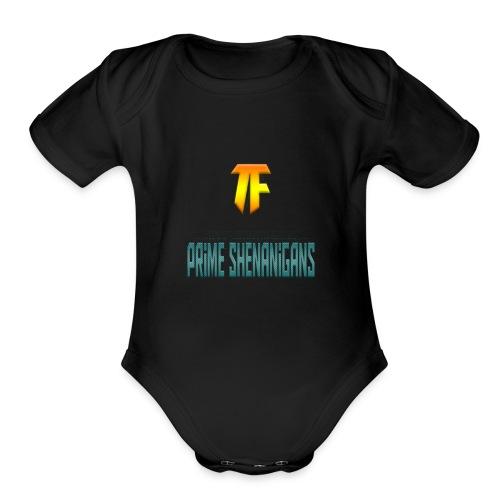 Trollfacer7 - Organic Short Sleeve Baby Bodysuit