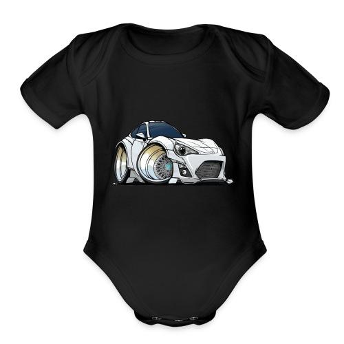 Toyota 86 - Organic Short Sleeve Baby Bodysuit