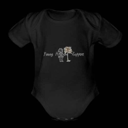 imageedit 1 4291946001 - Organic Short Sleeve Baby Bodysuit
