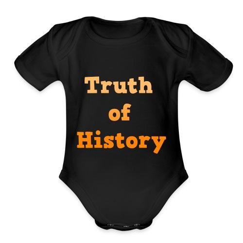 Truth of History - Organic Short Sleeve Baby Bodysuit