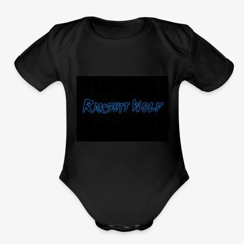 Rakshit Wolf - Organic Short Sleeve Baby Bodysuit