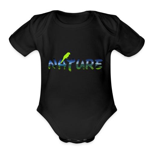 naturecontest - Organic Short Sleeve Baby Bodysuit